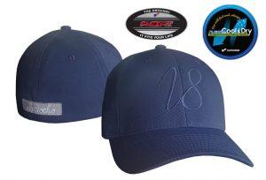 Gorra de golf modelo driver color azul marino