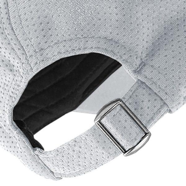 Gorra de golf hole detalle del cierre