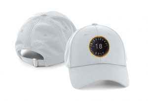 Gorra de golf modelo hole color gris claro