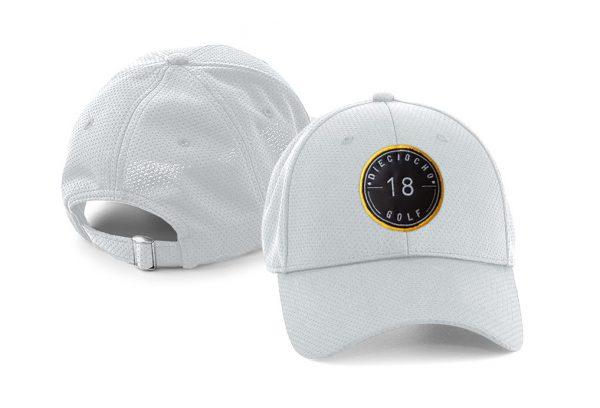 Gorra de golf modelo hole color gris claro