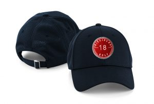 Gorra de golf modelo hole color azul marino