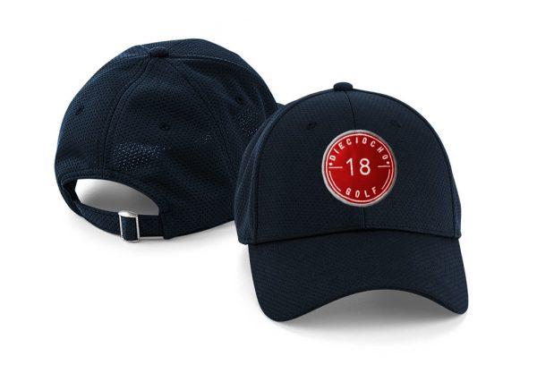 Gorra de golf modelo hole color azul marino