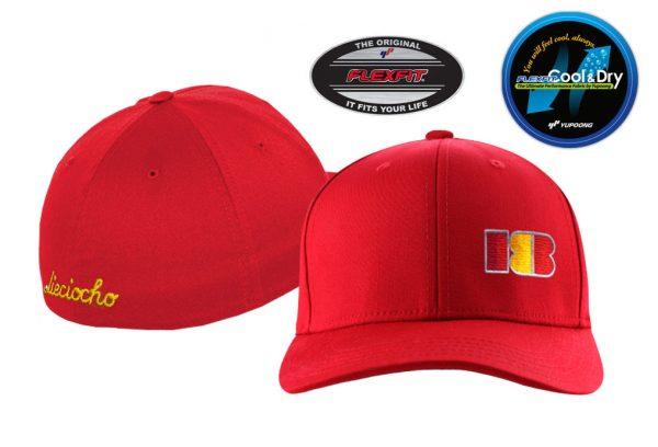 Gorra de golf modelo approach color rojo