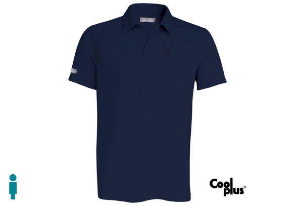 Polo de golf modelo driver color azul marino