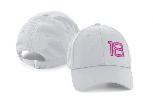 Gorra golf color gris claro foursome