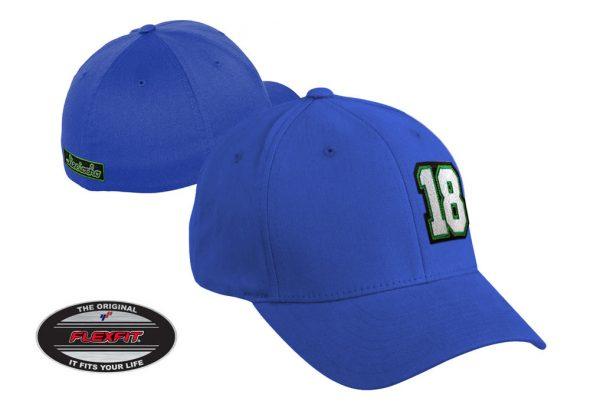 Gorra de golf modelo tee color azul