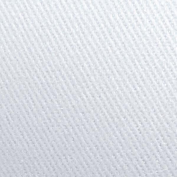 Detalle material gorra de golf modelo tee color blanco