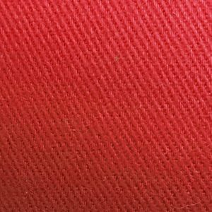 Detalle material gorra de golf modelo tee color rojo