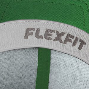 Detalle interior gorra de golf modelo tee color verde