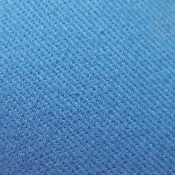 Detalle material visera de golf modelo caddie azul