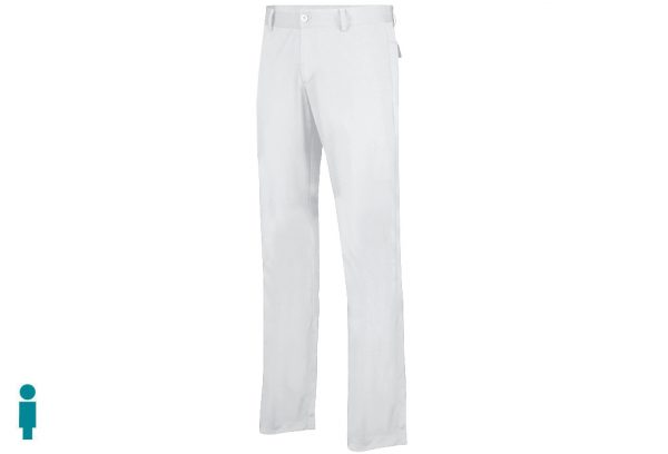 Pantalon golf hombre color blanco modelo par