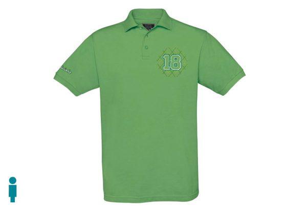 Polo de golf de hombre modelo greensome color verde