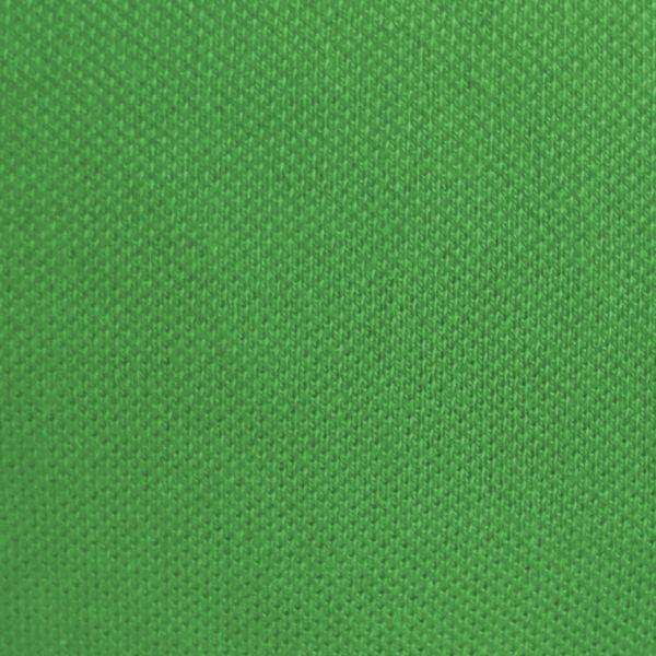 Detalle del tejido del polo de mujer modelo greensome color verde