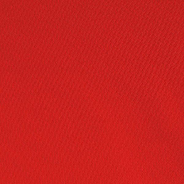 Detalle del tejido del polo de mujer modelo foursome color rojo