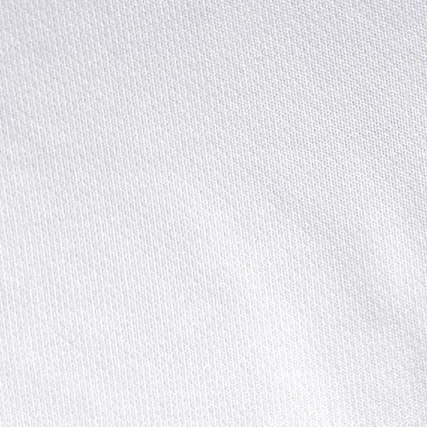 Detalle del tejido del polo de niño modelo foursome color blanco
