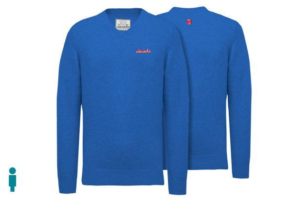 Jersey de golf de hombre modelo caddie color azul