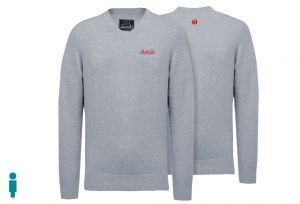 Jersey de golf de hombre modelo caddie color gris
