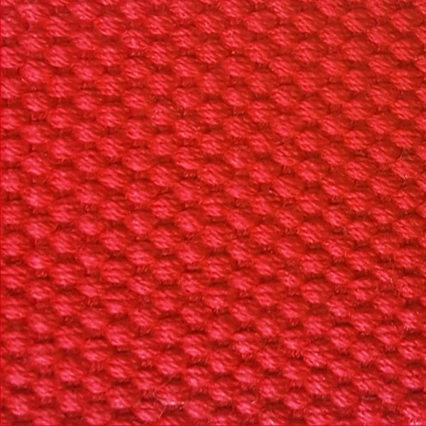 Detalle del cinturón rojo modelo par
