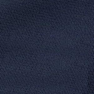 Detalle tejido sudadera de golf técnica de niña color azul marino modelo junior