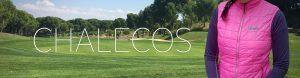 Chalecos de golf para mujer