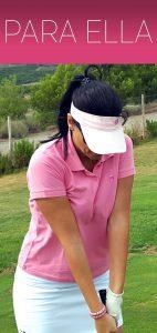 ropa y complementos de golf de mujer