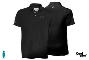 Polo de golf de hombre modelo foursome color negro