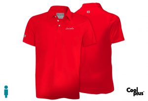 Polo de golf de hombre modelo foursome color rojo