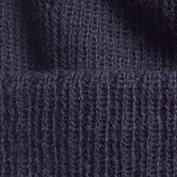 detalle tejido gorro de golf modelo caddie color azul marino
