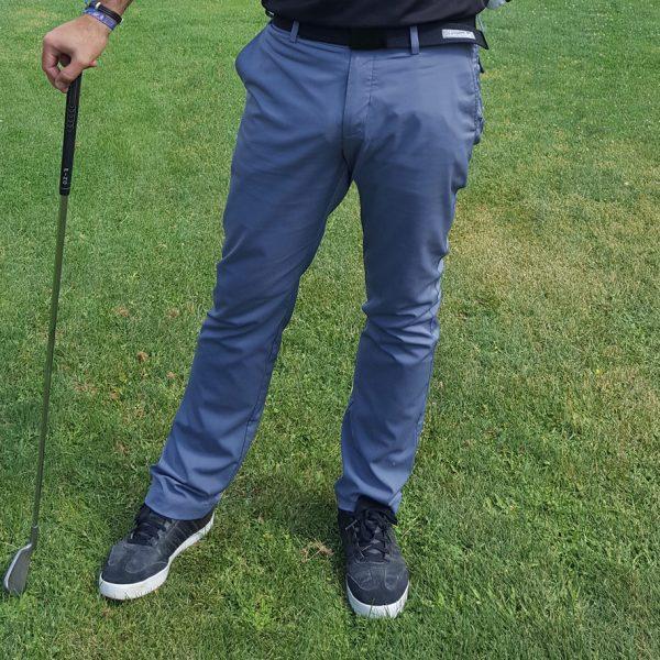 pantalon de golf hombre gris