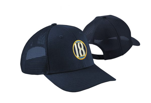 Gorra de golf color marino modelo draw