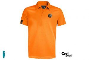 Polo de golf modelo draw hombre naranja