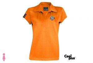 Polo de golf modelo draw mujer naranja