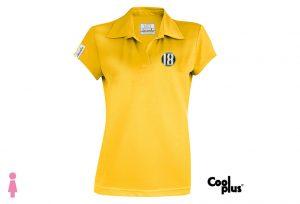 Polo de golf modelo draw mujer amarillo