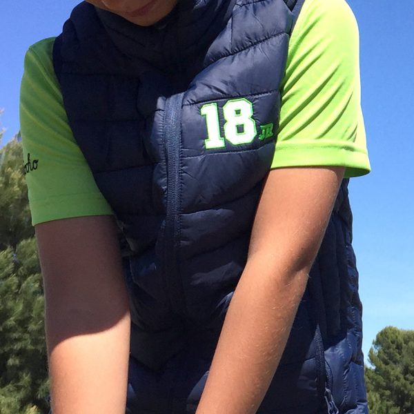 chaleco-golf-niño-junior-marino