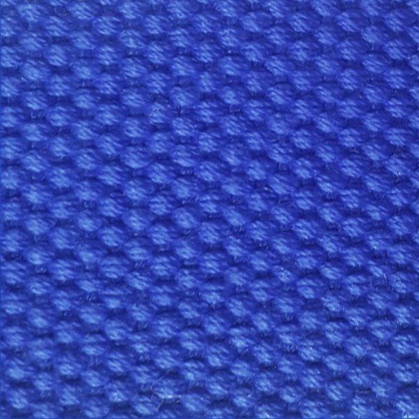 Detalle cinturón de golf azul