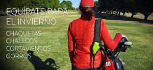 ropa y complementos de golf