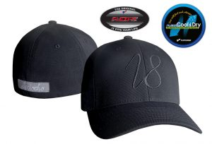 Gorra de golf modelo driver color negro