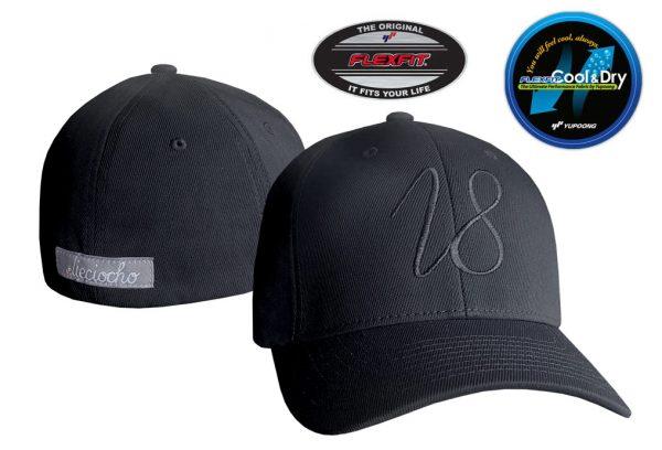Gorra de golf modelo driver color negro