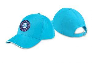 Gorra de golf modelo caddie color azul