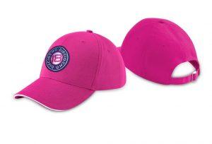 Gorra de golf modelo caddie color fucsia