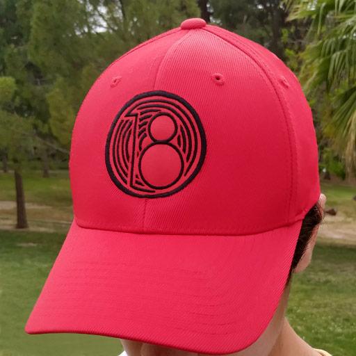 gorra-de-golf-roja-modelo-fade