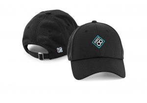 Gorra de golf modelo spin color negro