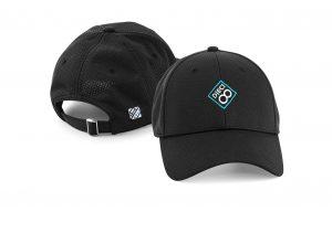 Gorra de golf modelo spin color negro