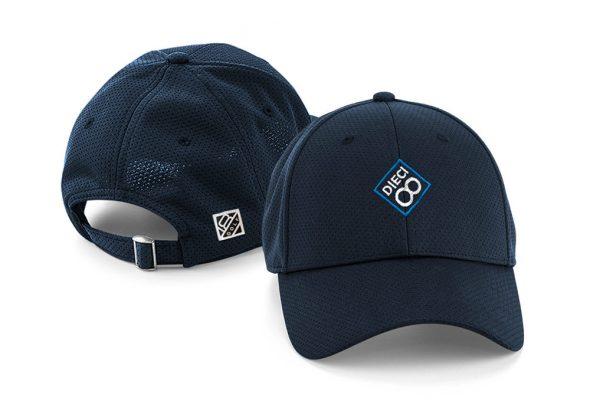 Gorra de golf modelo spin color azul marino