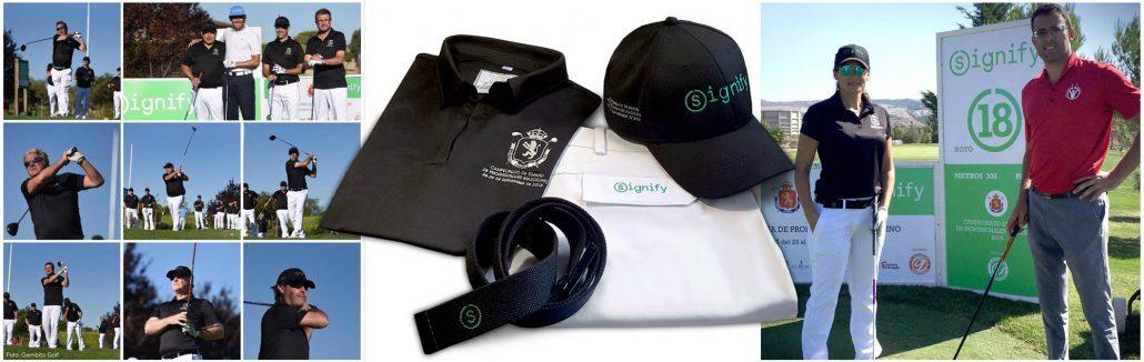 equipación golf proam cpto España profesionales golf