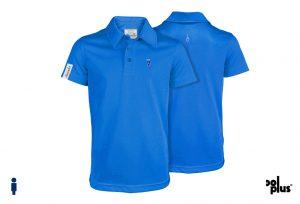 Polo de golf de niño modelo stroke color azul
