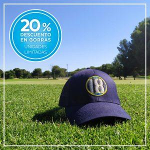 Descuento del 20% en gorras de golf dieciocho4