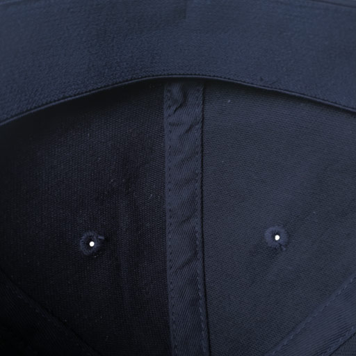 Detalle interior Gorra Golf Azul Marino modelo links