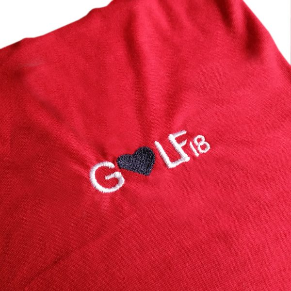 detalle-braga-rojo-love-golf-dieciocho