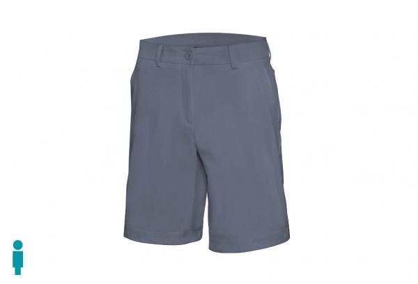 bermuda golf hombre color gris modelo par